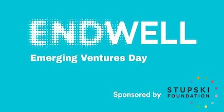 logo for Endwell Emerging Ventures Day, Sponsored by Stupski Foundation
